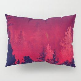 Red Wilderness Pillow Sham