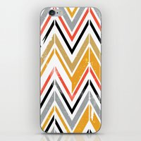 herringbone iPhone & iPod Skins featuring herringbone by Emmy Winstead
