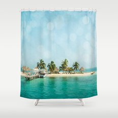 Rendezvous Caye Shower Curtain