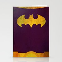 batgirl Stationery Cards featuring Batgirl by Fries Frame