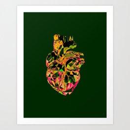 Heart Print #4 Art Print
