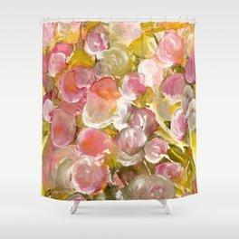 Satin Floral Dream Shower Curtain