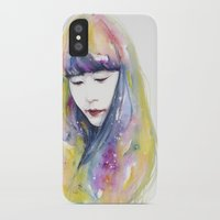 lime iPhone & iPod Cases featuring lime nights by agnes-cecile