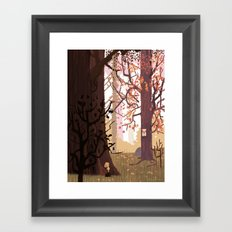 Looks Like Me Framed Art Print