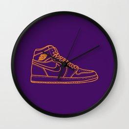 """Jordan 1 """"P H N X"""" Wall Clock"""