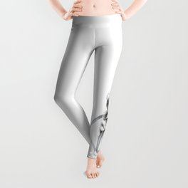 The Perseverance of a Puppy :: Siberian Husky Leggings