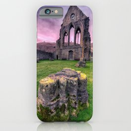 Welsh Abbey iPhone Case