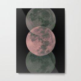 Moon Movements Metal Print