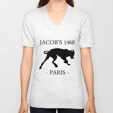 Black Dog Jacob's 1968 fashion Paris Unisex V-Neck