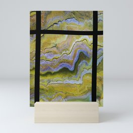 shelf, segmented pour Mini Art Print