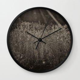 Vintage Morning Field Light Wall Clock