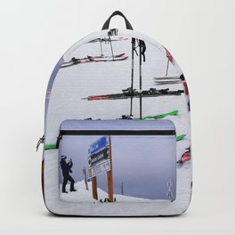 Skiers can't read ;o) Backpack