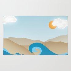 Beach Paradox Rug