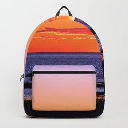 Stunning Seaside Sunset Backpack
