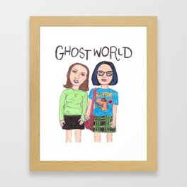 Ghost World Enid and Rebecca Framed Art Print
