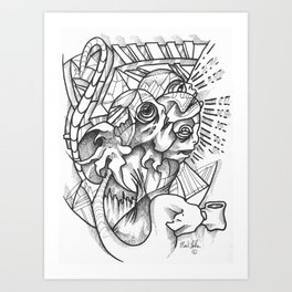 The Thrill of the Refill Art Print