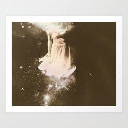 Milky Way Maid Art Print