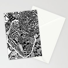 Lacking White Stationery Cards