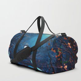 Tardis Lost In The Forest Duffle Bag