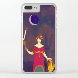 Hekate Clear iPhone Case