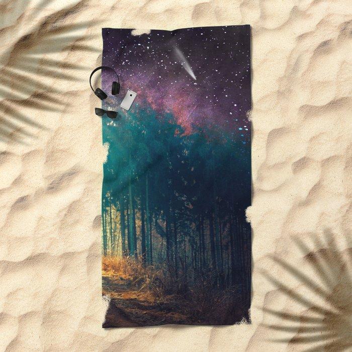 make a wish Beach Towel