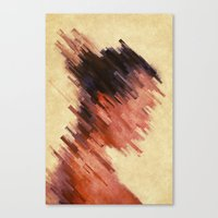 woman Canvas Prints featuring Woman by SensualPatterns