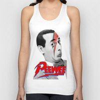 pee wee Tank Tops featuring Pee wee by Iamzombieteeth Clothing