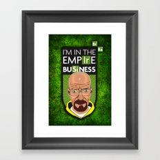 Empire Business Framed Art Print