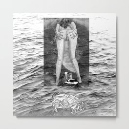 The constellation erotique 3395 Metal Print