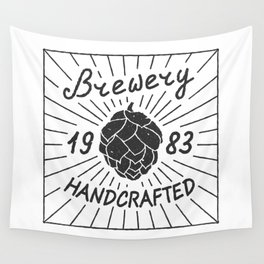 Brewery Handcrafted Fashion Modern Design Print! Beer style Wall Tapestry