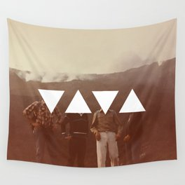 Smoking Mountains 1983 Wall Tapestry