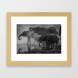 Serengeti Framed Art Print