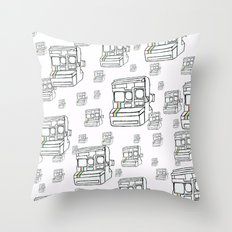 Polaroid 2.0 Throw Pillow