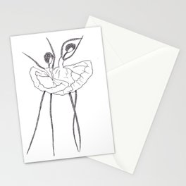 Ink and Ballet 2 Stationery Cards