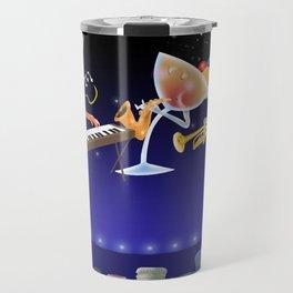 jazz & cheers Travel Mug