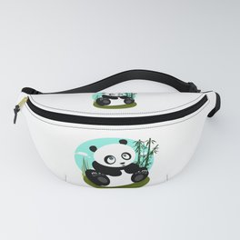 Baby Panda Fanny Pack
