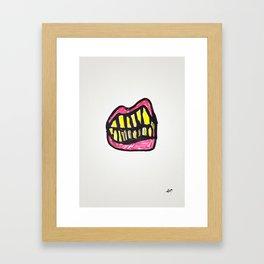Grrr Framed Art Print