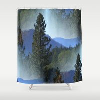 once upon a  time Shower Curtains featuring Once upon a time... by Cherie DeBevoise