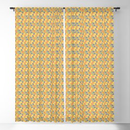 Retro Swirls Blackout Curtain