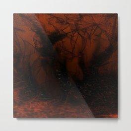 Falling Maelstrom Metal Print