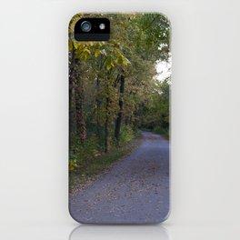 Illinois Autumn Trail iPhone Case