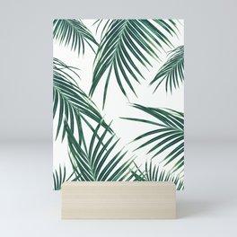 Green Palm Leaves Dream #2 #tropical #decor #art #society6 Mini Art Print