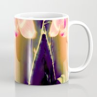 orchid Mugs featuring orchid by Eva Lesko