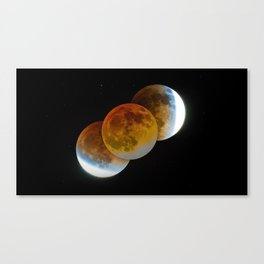 Occulted Canvas Print