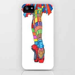 Happy Ballet 5 iPhone Case