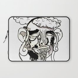 Whacky Face Laptop Sleeve