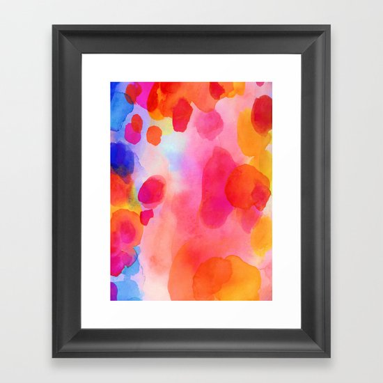 Speechless Framed Art Print