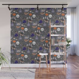 Chubboween Patriarchy Potion Watercolor Pattern Wall Mural