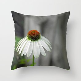 In the Garden with Saint Francis Throw Pillow