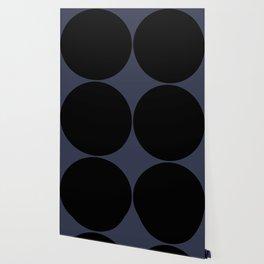 Circular Minimalism - Midnight Wallpaper